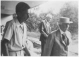 [Frank Lloyd Wright's visit to Florida Southern College in May of 1949: variation 14]