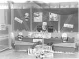 Booth showing Florida promotional material at Progress Exposition