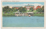 [Dock scene from Lake Hollingsworth, Southern College]