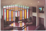 William H. Danforth Chapel 1955 [Interior] Florida Southern College