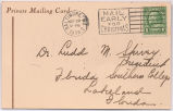 [Postcard] 1938 November 29, Baltimore, Md. [to] Dr. Ludd M. Spivey, Lakeland, Fla.